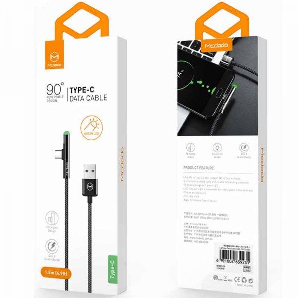 کابل تبدیل USB به Type C مک دودو CA-6390
